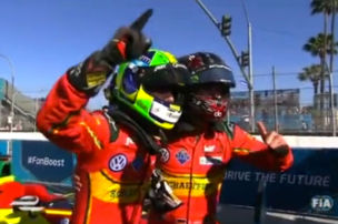 Formel E: Di Grassi siegt in Long Beach
