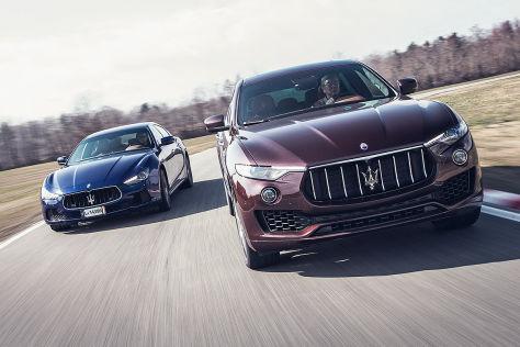 Maserati Ghibli Maserati Levante
