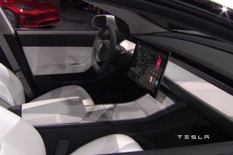 Tesla Model 3 (2017): Gerüchte ums Cockpit