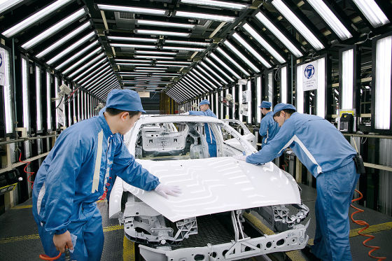 Ford Focus Weltreise China