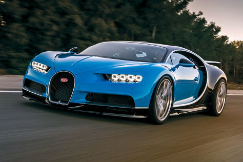 Bugatti Chiron: