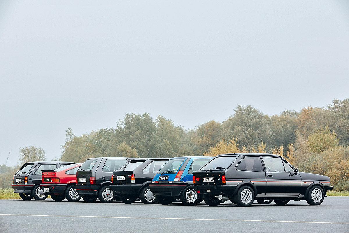 Sportliche Kleinwagen