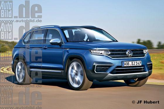 "VW Passat SUV ""T-Track"" (2019): Vorschau - autobild.de"