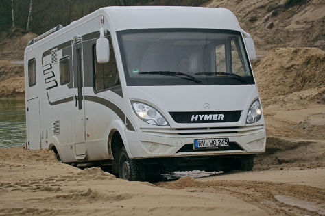 hymer ml i 580 4x4 wohnmobil test. Black Bedroom Furniture Sets. Home Design Ideas