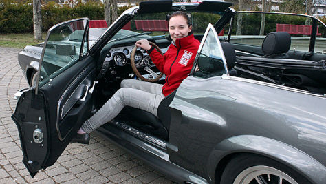 Shelby Mustang GT500 Replika: Sitzprobe