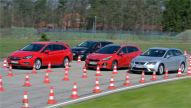 Opel Astra/Peugeot 308/Seat Leon/Kia cee'd: Kombi-Test