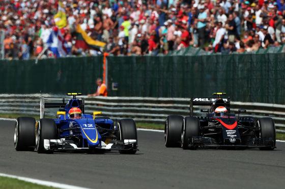 Sauber & McLaren