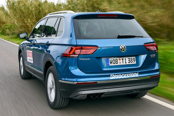 erster test was kann der neue vw tiguan. Black Bedroom Furniture Sets. Home Design Ideas