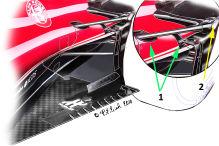 Ferrari mit variabler Aufh�ngungsgeometrie