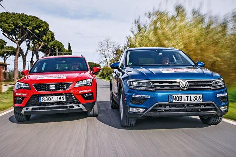 Suvs im test seat ateca trifft auf vw tiguan for Europe garage seat
