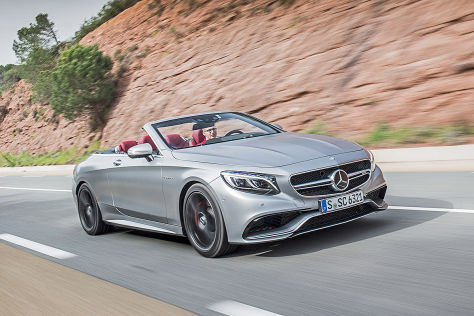 Mercedes-AMG S 63 Cabriolet 4Matic (2016): Fahrbericht