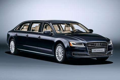 Audi A8 L extended (2016): Vorstellung