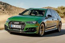 Audi RS 4 B9 (2017): Erlkönig