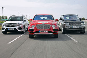 Bentley Bentayga/Mercedes GLS/Range Rover: Test