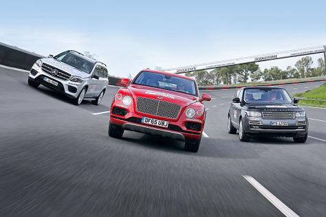 bentley bentayga preisliste