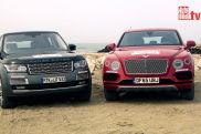 Zwei Luxus-SUV im Duell