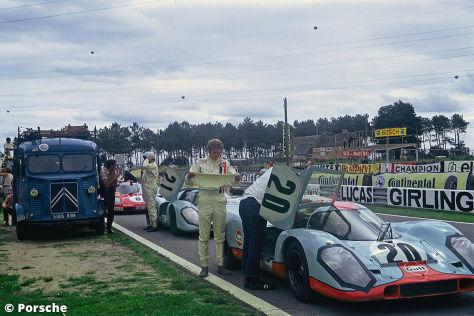 """""""Unser Le Mans"""": Rennfilm-Buch über Steve McQueen und Siegfried Rauch"""