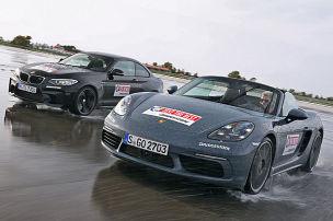 Porsche 718 Boxster S/BMW M2: Test