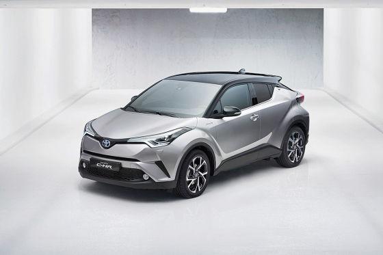 Erste Mitfahrt im Toyota-Crossover