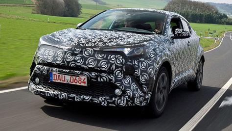 Toyota C-HR (2016): Mitfahrt