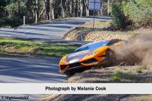 Lamborghini im Dreck