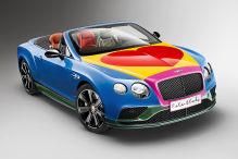 Bentley treibt's bunt