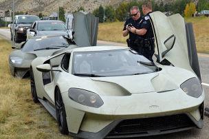Ford GT Prototypen: Knöllchen für Raserei