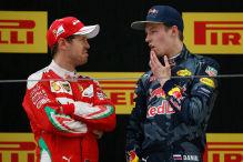 Zoff zwischen Vettel und Kvyat