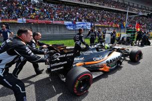 Hamilton egalisiert Webber-Rekord