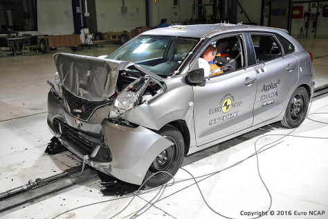 Suzuki Baleno: Euro NCAP Crashtest April 2016