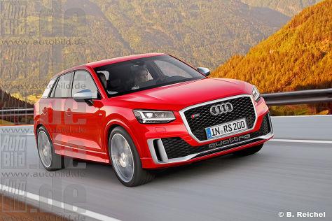 Audi RS Q2 (2018): Vorschau