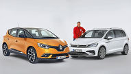 Renault Sc�nic/VW Touran: erster Abgleich