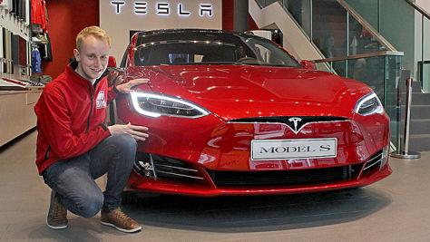 Tesla Model S Facelift (2016): Sitzprobe