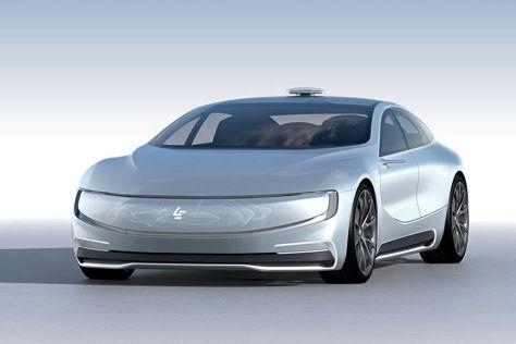 LeSEE EV (2016): Autonomes Elektroauto aus China