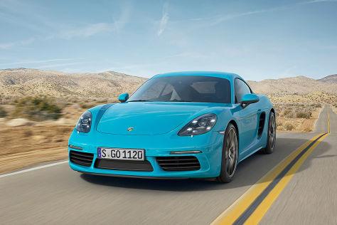 Porsche 718 Cayman (2016): Vorstellung