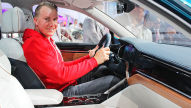 VW T-Prime Concept GTE 2016: Sitzprobe