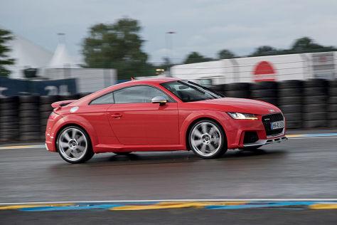 Audi TT RS (2016) im Test: Sitzprobe