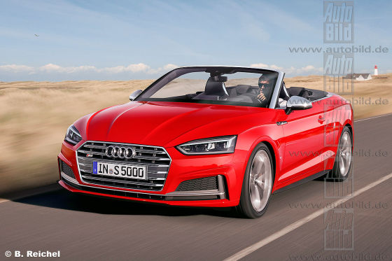 audi a5 s5 cabrio 2017 vorschau. Black Bedroom Furniture Sets. Home Design Ideas