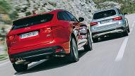 Jaguar F-Pace/Mercedes GLC: Test