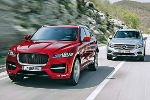 Jaguar F-Pace/Mercedes GLC: Test