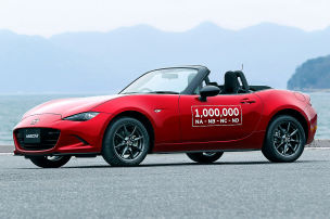 Mazda baut eine Million MX-5