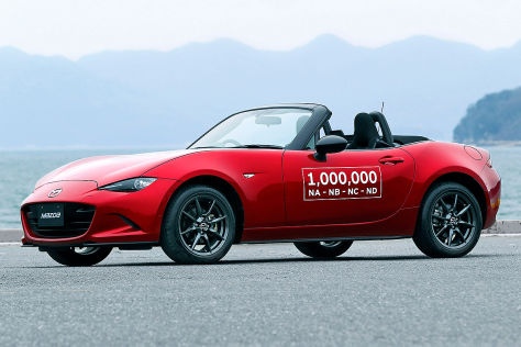 Mazda baut eine Million RX-5