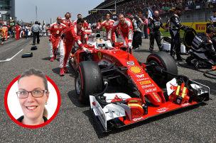 Formel 1: Kolumne von Bianca Garloff