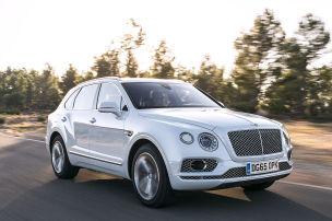 Bentley Bentayga Speed (2016): Vorschau
