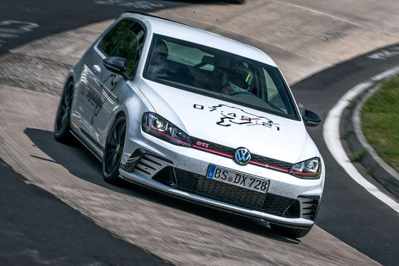 vw golf gti clubsport s nordschleife 2016 im test fahrbericht. Black Bedroom Furniture Sets. Home Design Ideas