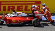 Formel 1: Elektronikproblem am Ferrari