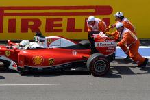 Getriebewechsel f�r Vettel