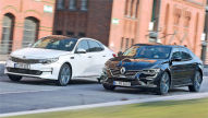 Kia Optima/Renault Talisman: Test