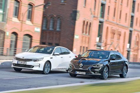 Kia Optima Renault Talisman