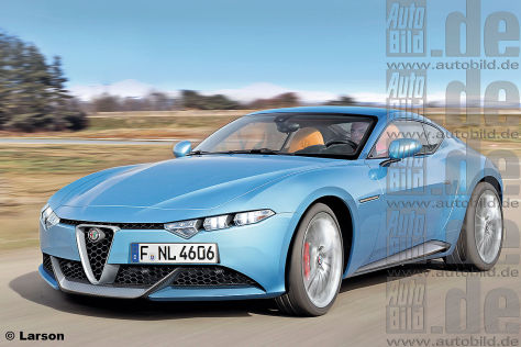 Alfa Romeo Brera Illustration